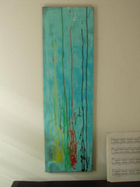31cm x 102cm Narrow Canvas.